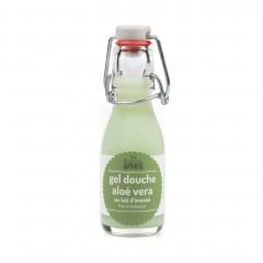 Gel douche limonade au lait d'ânesse frais et biologique Aloe Vera 100 ml