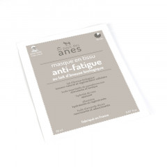 Masque en tissu au lait d\'ânesse biologique Anti-fatigue 20 ml