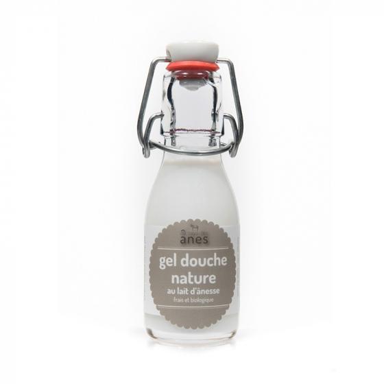 Gel douche limonade au lait d'ânesse frais et biologique Nature 100 ml